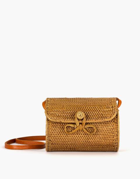 Bembien® Lily Rattan Crossbody Bag in natural image 3