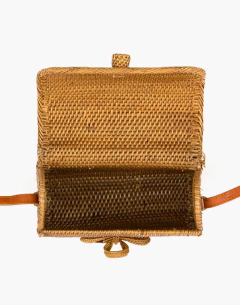 Bembien® Lily Rattan Crossbody Bag in natural image 4