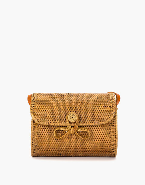 Bembien® Lily Rattan Crossbody Bag in natural image 1