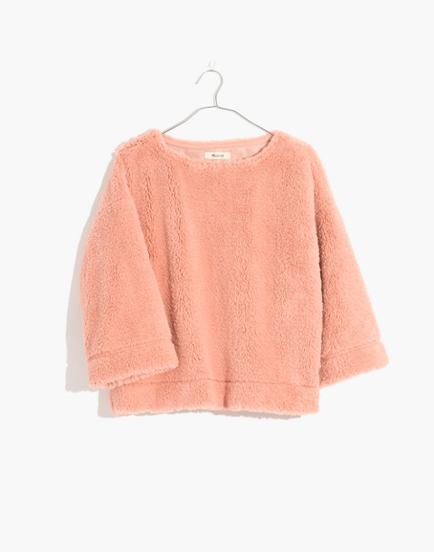 Superfurry Top in tinted blush image 1