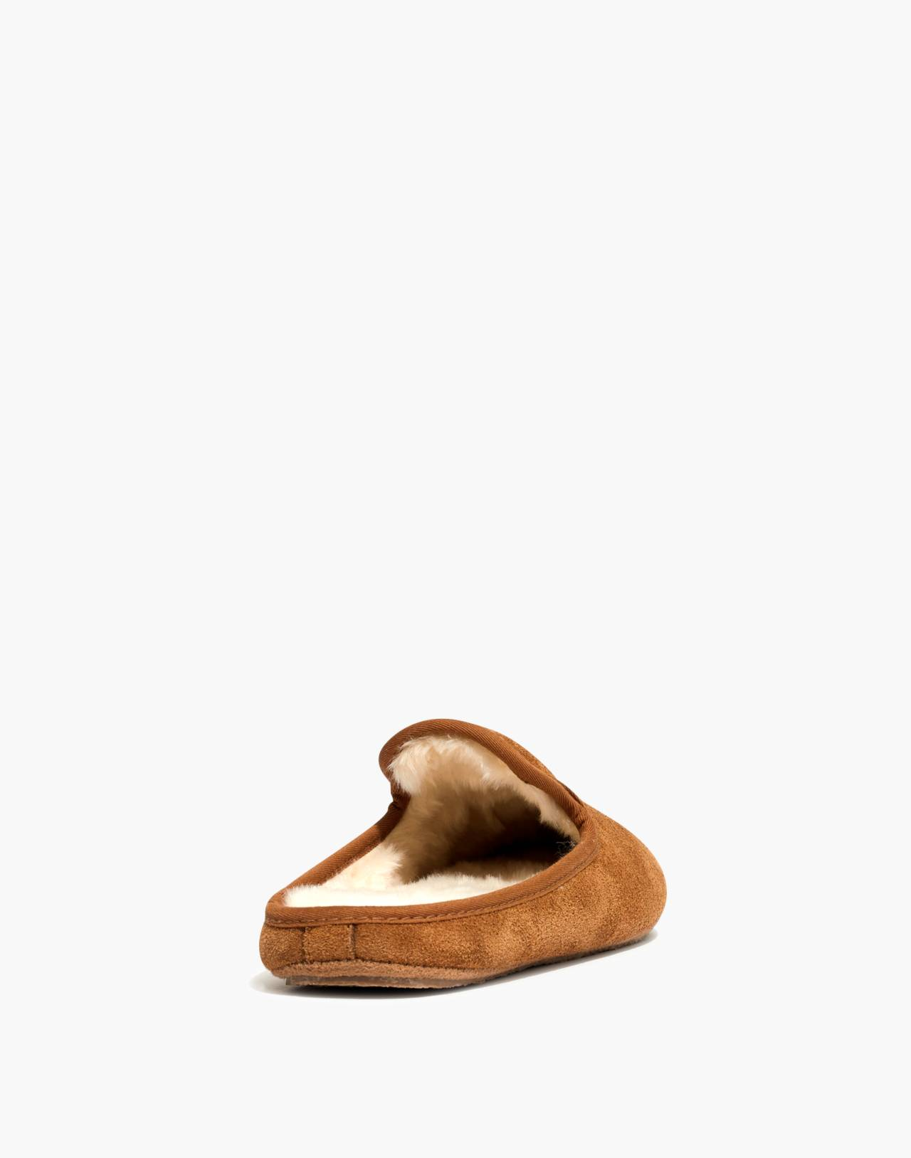 The Loafer Scuff Slipper in Suede in timber beam image 3