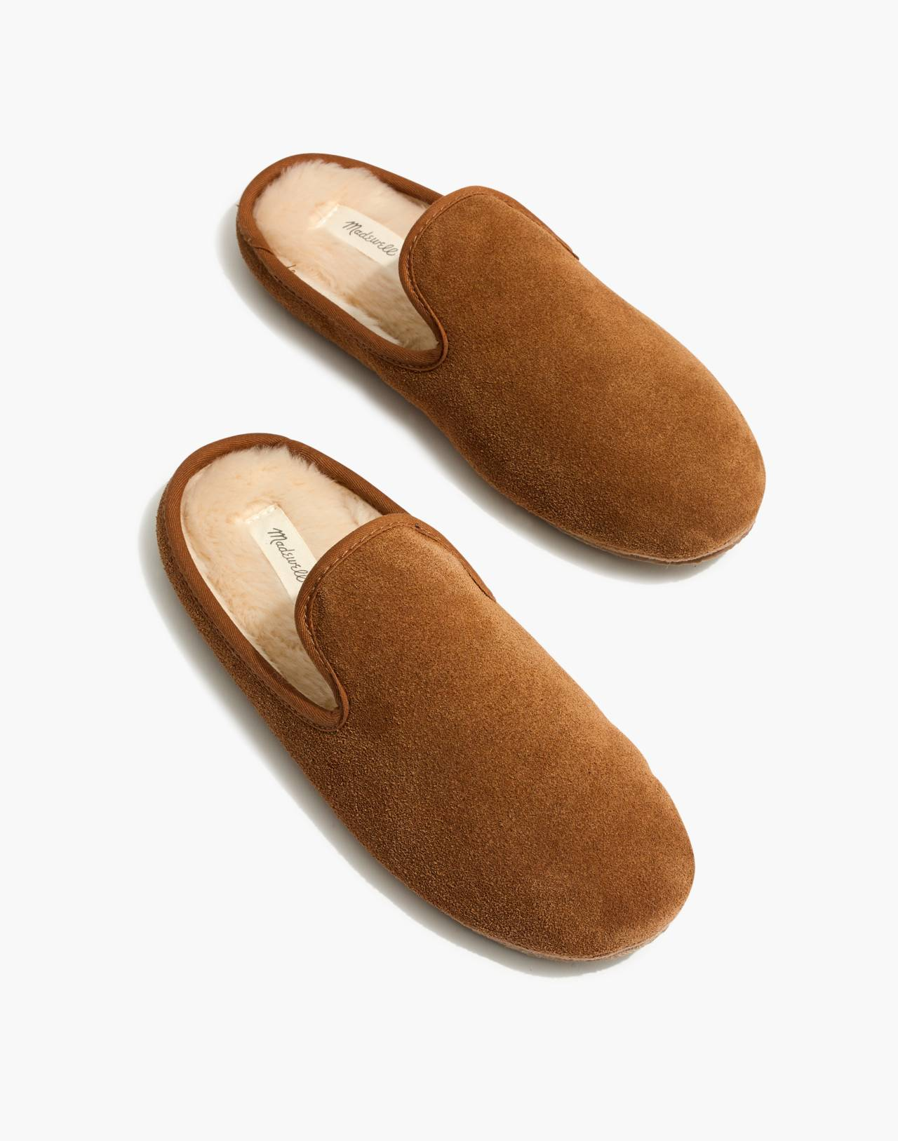 The Loafer Scuff Slipper in Suede in timber beam image 1
