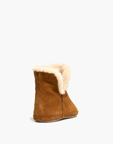 The Slipper Bootie in Suede in timber beam image 3