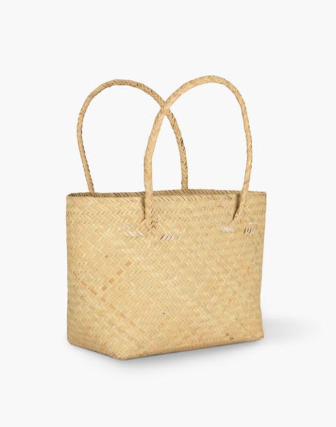 Bembien® Lolita Mini Rattan Tote Bag in natural image 2