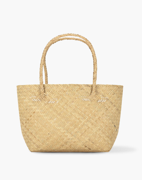 Bembien® Lolita Mini Rattan Tote Bag in natural image 1