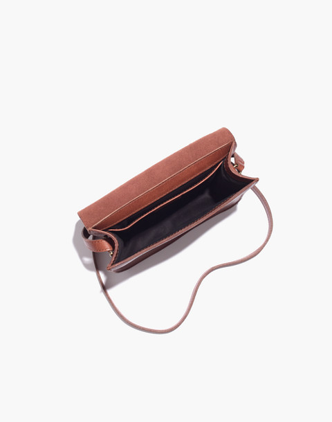 The Holland Shoulder Bag in Leather in english saddle image 3