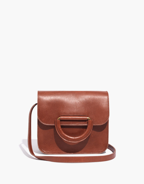 The Holland Shoulder Bag in Leather in english saddle image 1