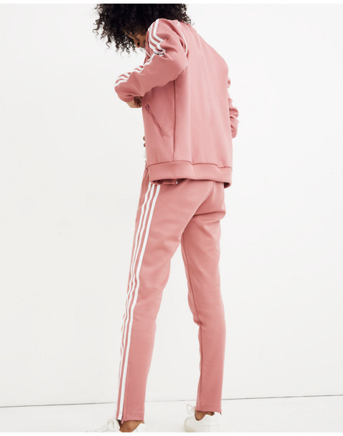Adidas® Originals Track Pants in pink stripe image 3