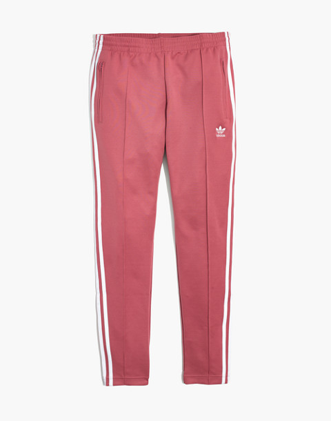 Adidas® Originals Track Pants in pink stripe image 4