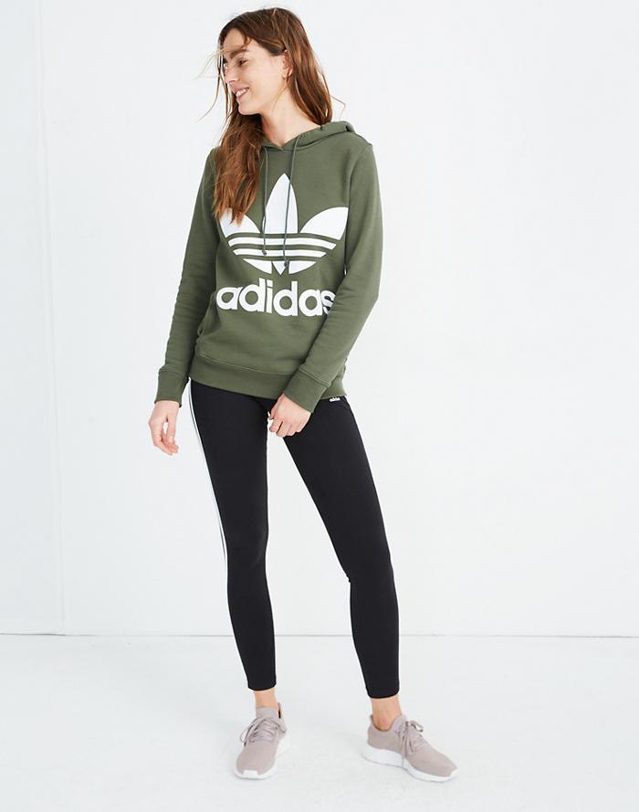 59841c8af486f Adidas® Originals Trefoil Hoodie Sweatshirt