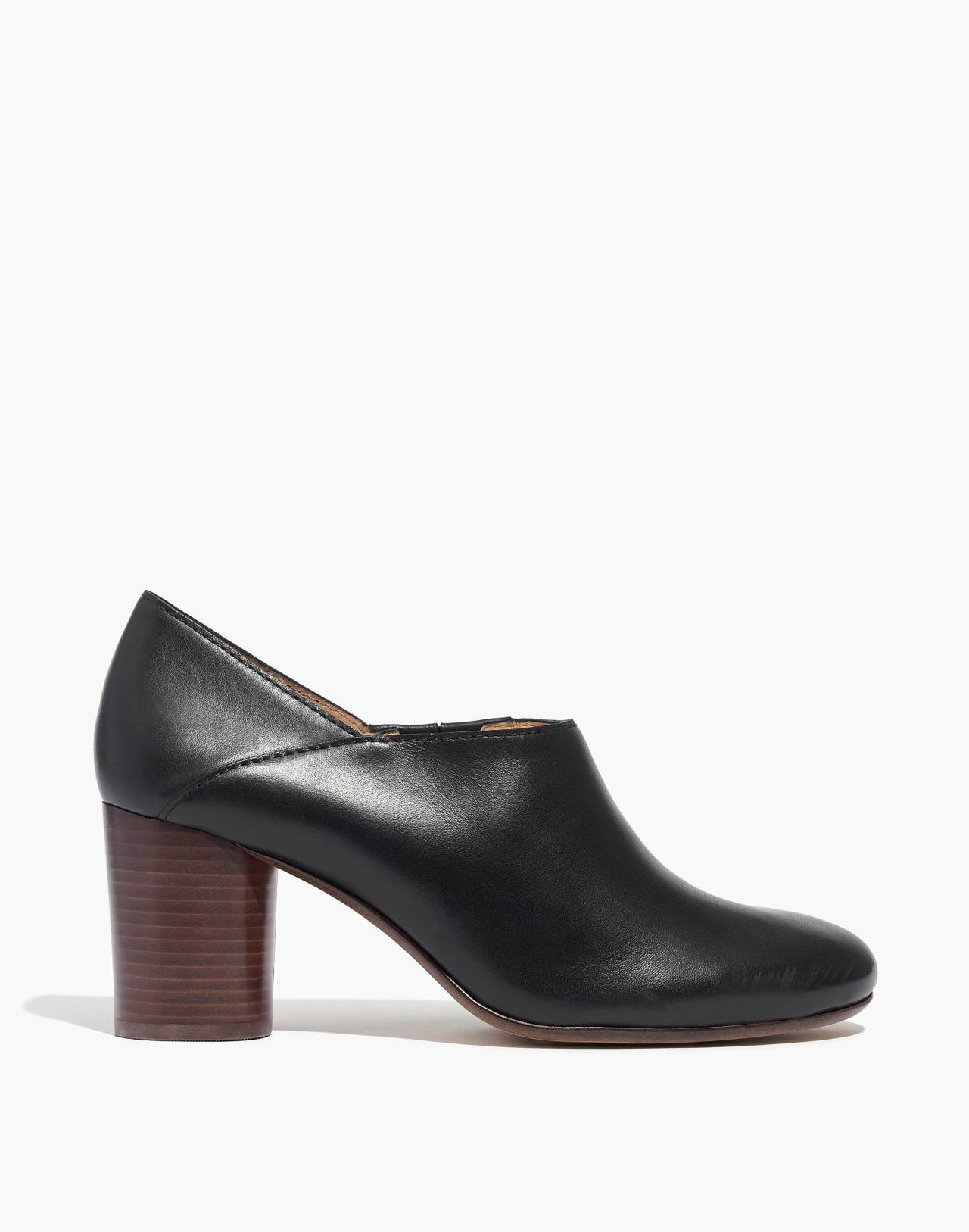 The Rory Lowcut Bootie in true black image 3