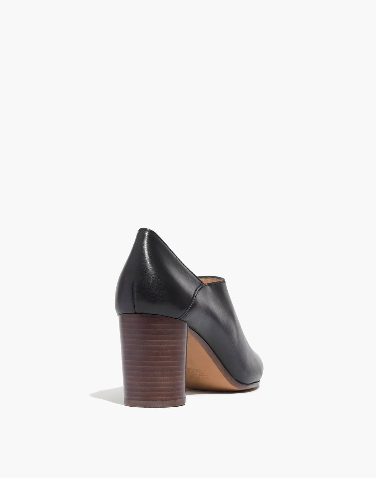 The Rory Lowcut Bootie in true black image 4
