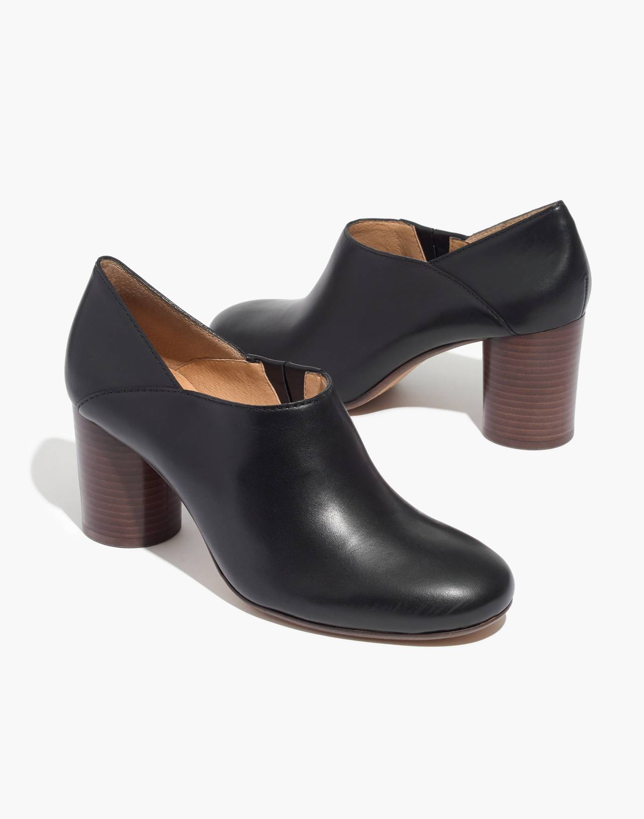 The Rory Lowcut Bootie in true black image 1