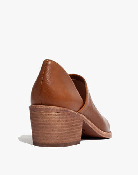 The Brady Lowcut Bootie in english saddle image 4