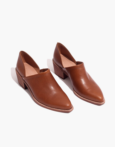 The Brady Lowcut Bootie in english saddle image 1