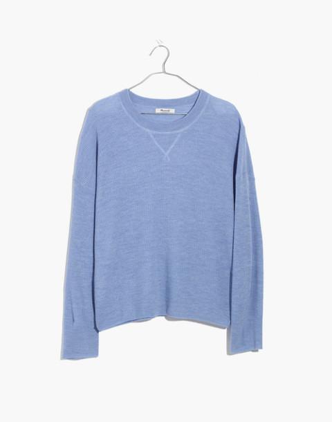 Cashmere Sweatshirt in heather perri image 1