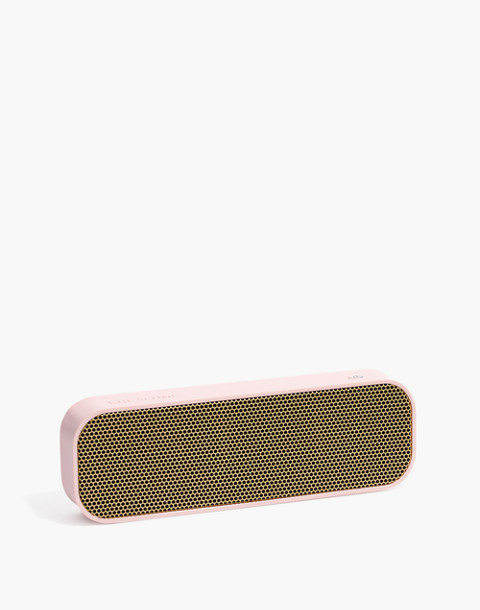 Kreafunk™ aGroove Wireless Bluetooth Speaker in dusty pink image 1