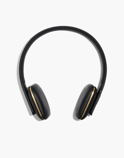 Kreafunk™ aHead Wireless Bluetooth Headphones in black image 1