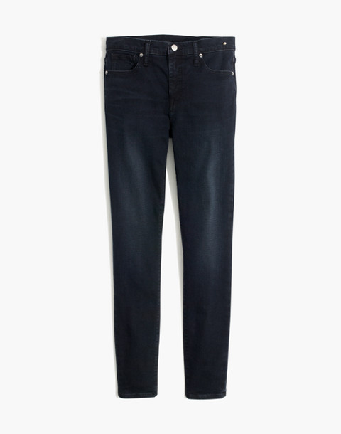 """9"""" High-Rise Skinny Jeans in Cold Blue Wash in cold blue image 4"""