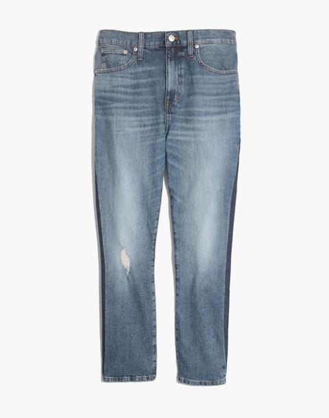 The High-Rise Slim Boyjean in Raebrook Wash: Eco Edition in raebrook image 4