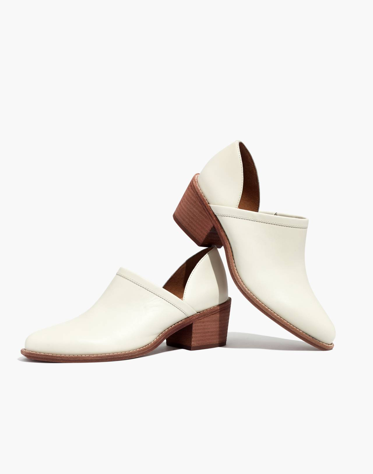 The Brady Lowcut Bootie in vintage canvas image 1