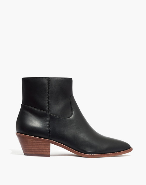 The Charley Boot in Leather in true black image 3