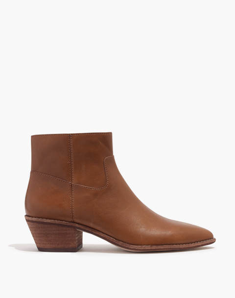 The Charley Boot in Leather in english saddle image 2