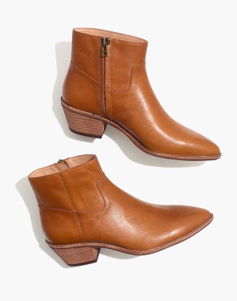 The Charley Boot in Leather in english saddle image 1