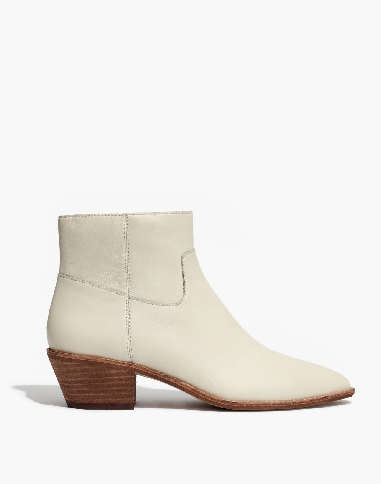 The Charley Boot in Leather in vintage canvas image 3