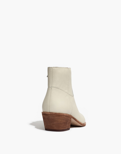 The Charley Boot in Leather in vintage canvas image 4