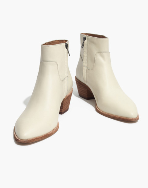 The Charley Boot in Leather in vintage canvas image 1