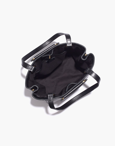 The Holland Tote Bag in true black image 3