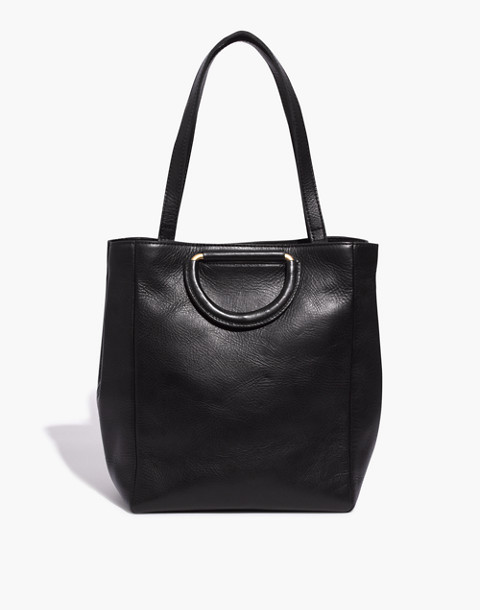 The Holland Tote Bag in true black image 1