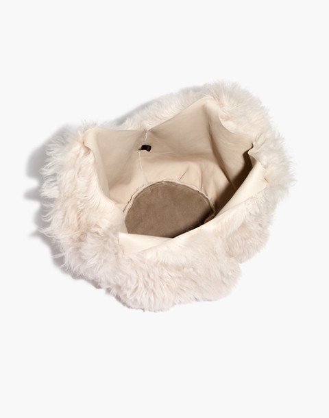Owen Barry™ Shearling Bag in coperta nap image 3