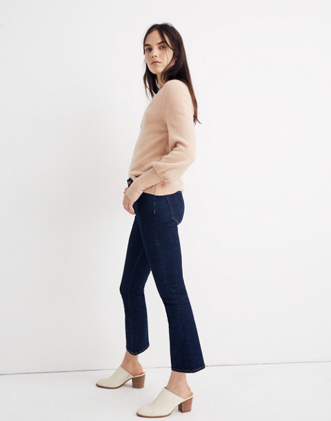 Dashwood V-Neck Sweater in Coziest Yarn in dusty shell image 2
