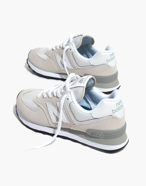 New Balance® 574 Core Sneakers in white image 1