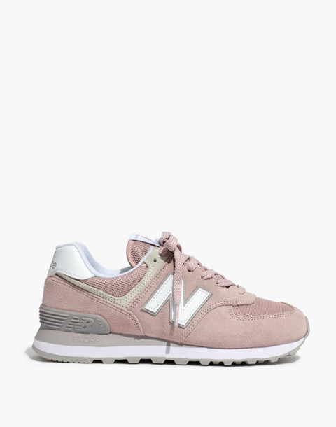 New Balance® 574 Core Sneakers in pink image 3