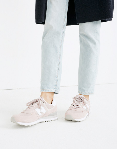 New Balance® 574 Core Sneakers in pink image 2