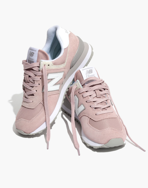 New Balance® 574 Core Sneakers in pink image 1