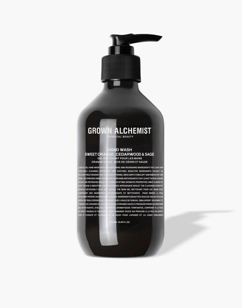 GROWN ALCHEMIST® Hand Wash: Sweet Orange, Cedarwood and Sage in one color image 1