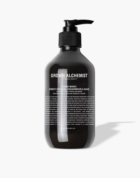 GROWN ALCHEMIST® Hand Wash: Sweet Orange, Cedarwood and Sage