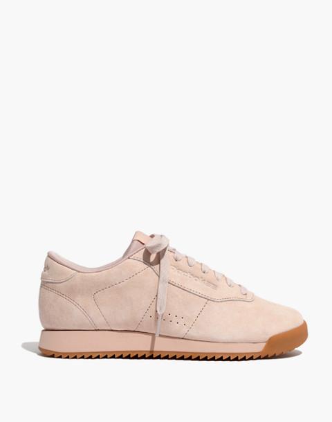 Reebok® Princess Ripple Sneakers in Pink Suede in winter fruit bare beige image 3