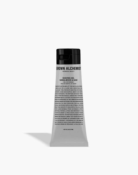 GROWN ALCHEMIST® Shaving Gel: Sandalwood and Sage in one color image 1