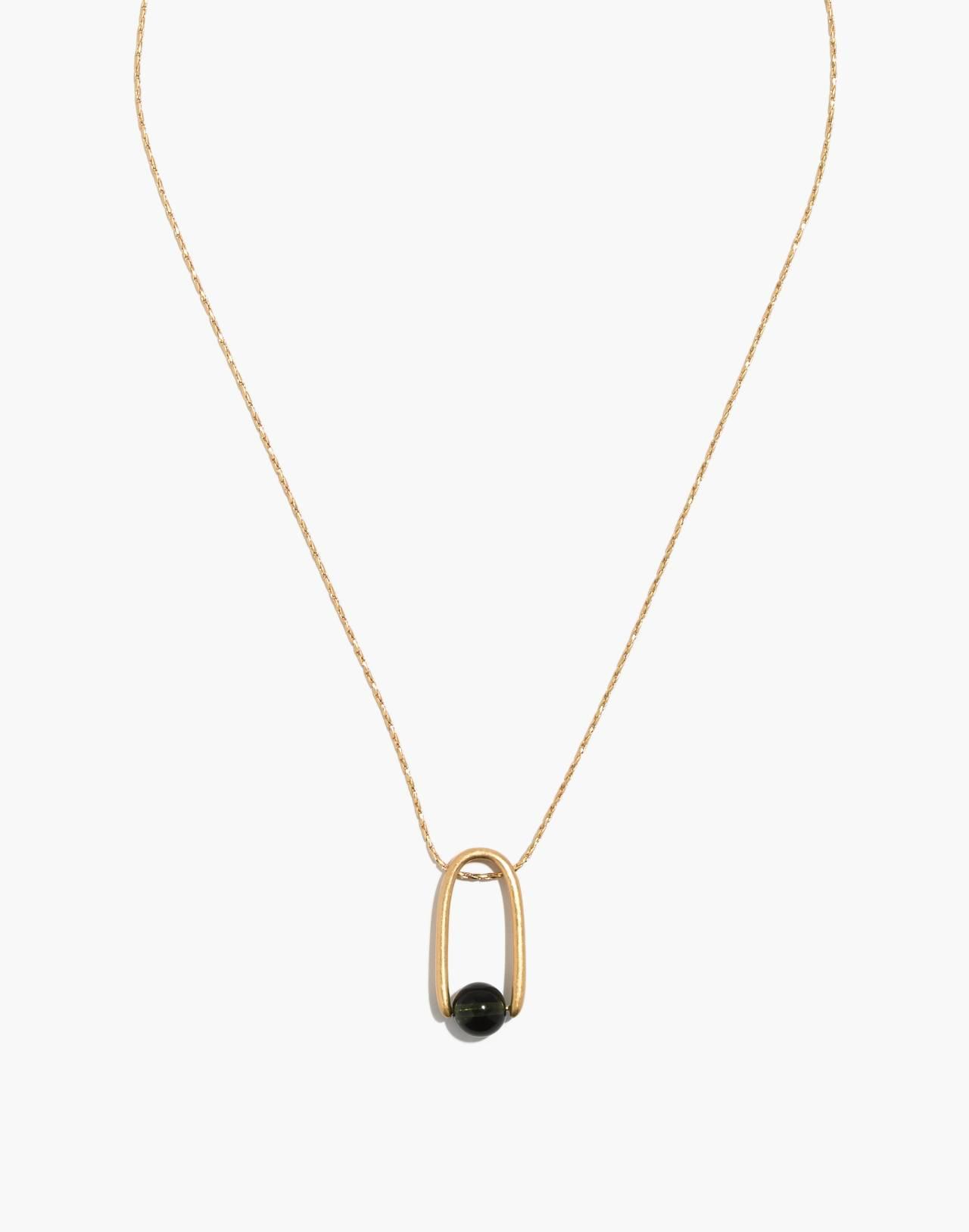 Resin Pinball Pendant Necklace in grandpa image 1