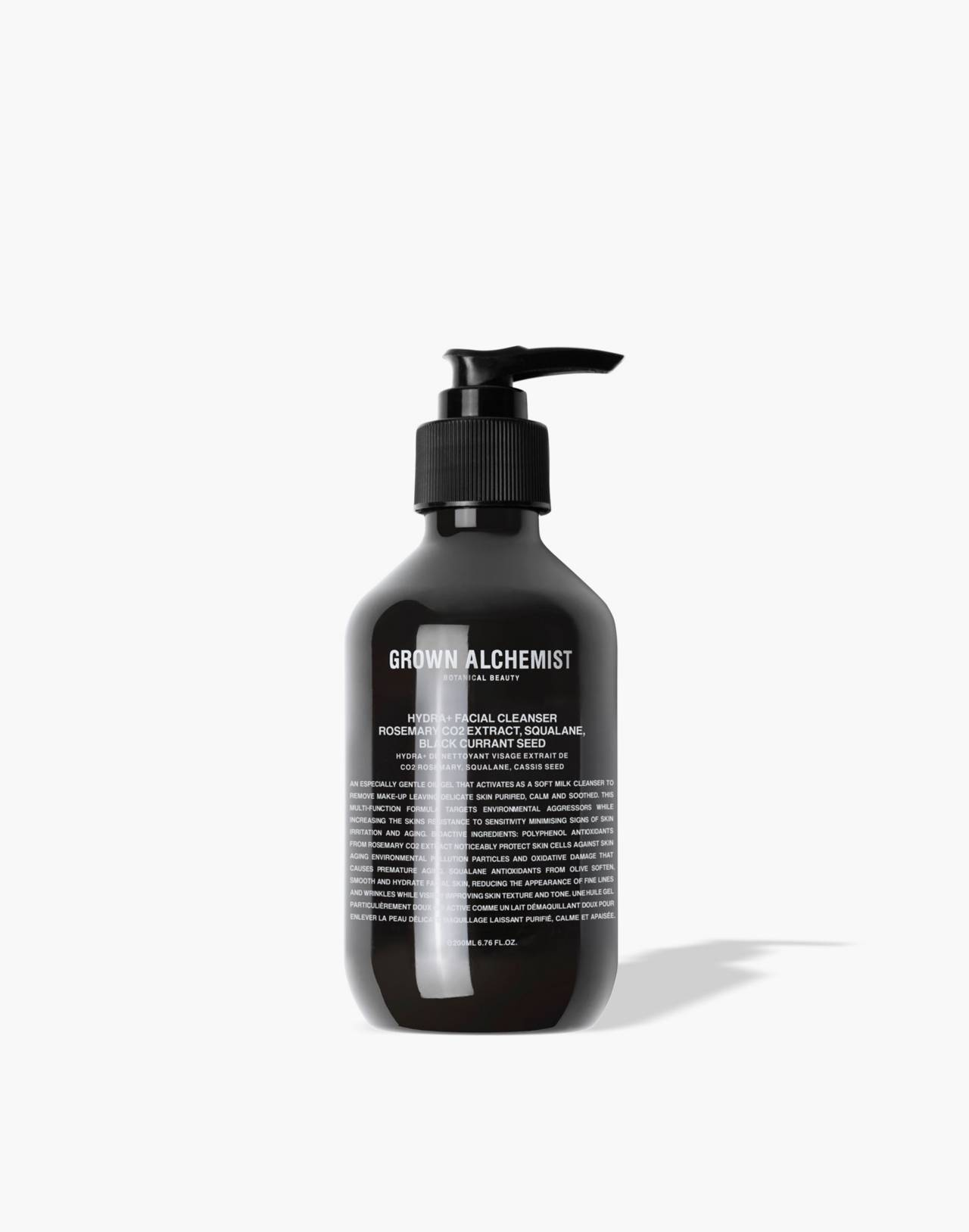 GROWN ALCHEMIST® Hydra + Oil-Gel Facial Cleanser: CO2 Extract, Squalane and Black Currant Seed in one color image 1