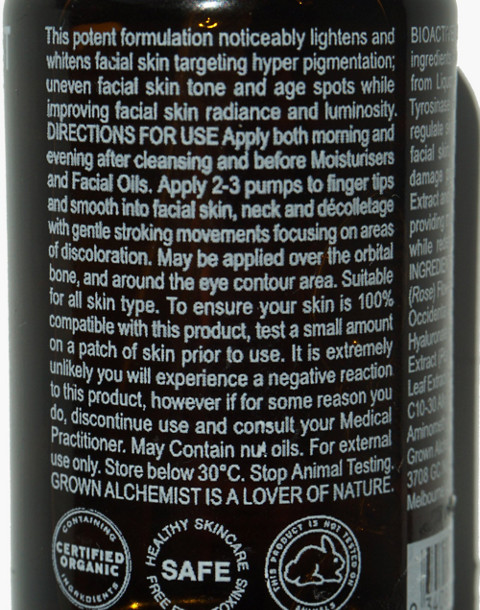 GROWN ALCHEMIST® Brightening Serum: Phyto-Complex and Rumex Leaf Extract in one color image 2