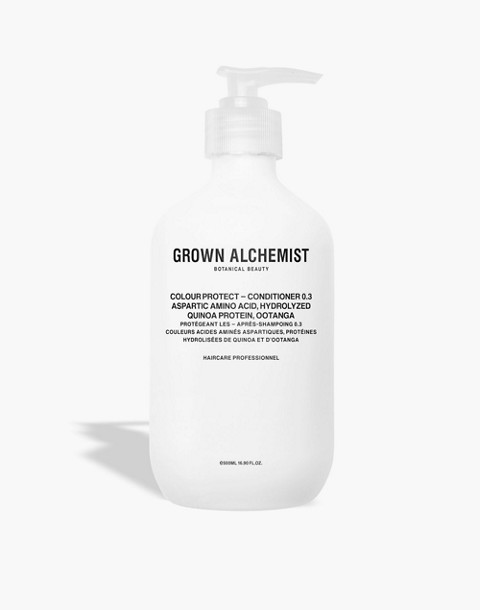 GROWN ALCHEMIST® Extra Large Colour Protect Conditioner 0.3: Aspartic Amino Acid, Hydrolyzed Quinoa Protein and Ootanga in one color image 1