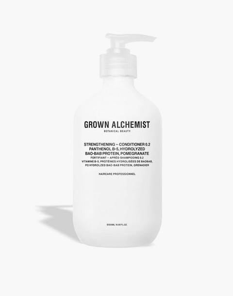 GROWN ALCHEMIST® Extra Large Strengthening Conditioner 0.2: Panthenol B-5, Hydrolyzed Bao-Bab Protein and Pomegranate in one color image 1