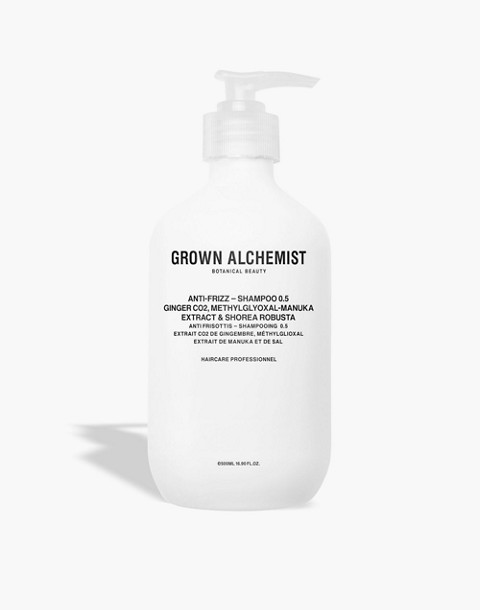 GROWN ALCHEMIST® Extra Large Anti-Frizz Shampoo 0.5: Ginger CO2, Methylglyoxal-Manuca Extract and Shorea Robusta in one color image 1