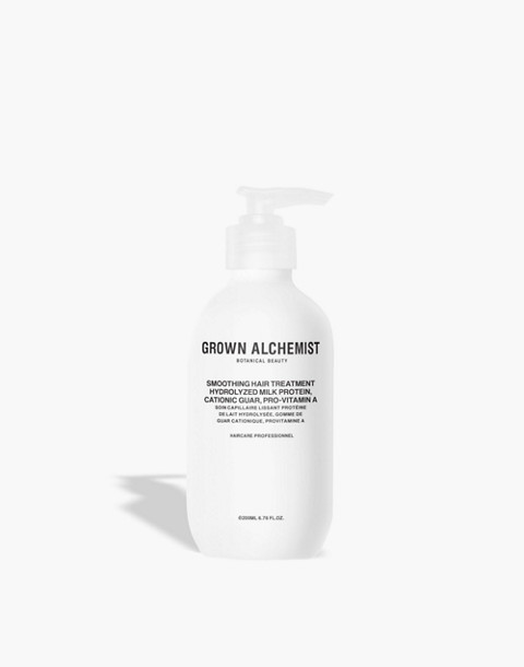 GROWN ALCHEMIST® Smoothing Hair Treatment: Hydrolyzed Milk Protein, Cationic Guar and Pro-Vitamin A